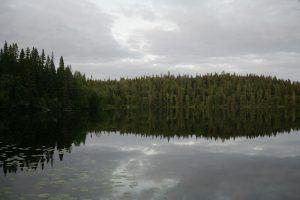 Озеро неподалёку от Филипповских садков