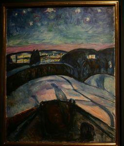 Звёздная ночь 1922-1924