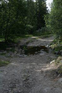 Дорога на мыс Печак
